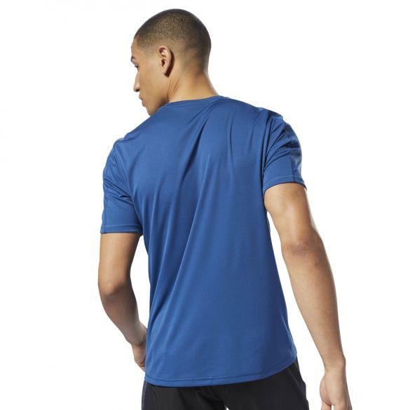 Мужская футболка Reebok Wor Tech Top Bunblu D94311