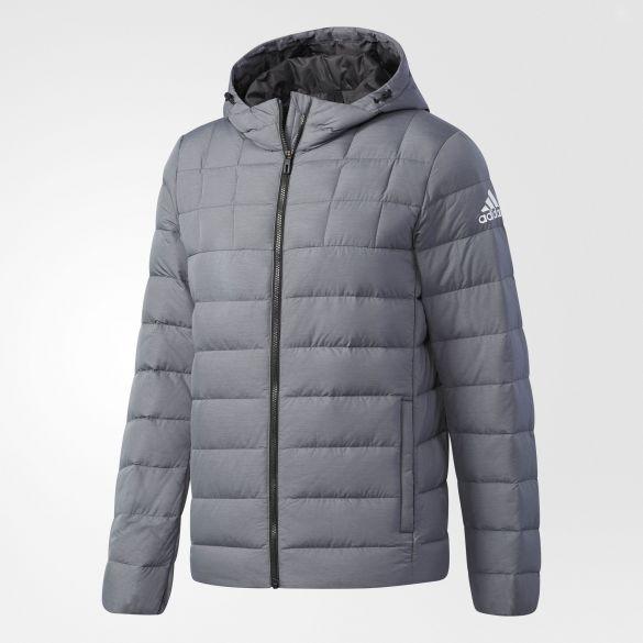 Мужской пуховик Adidas NUVIC HEATHER BQ8628