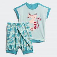 фото Детский комплект Adidas Summer Set DJ1553