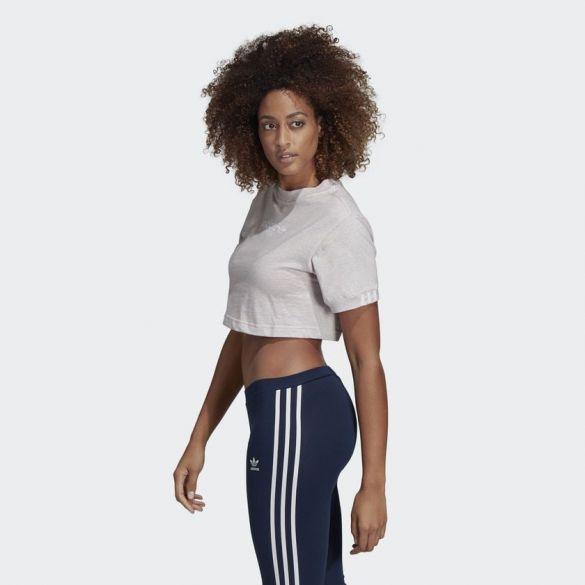 Укорочнная женская футболка Adidas Originals Coeeze DU2341