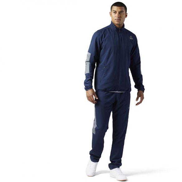 2b57613d Мужской спортивный костюм Reebok Woven Techy Track BQ5787 купить за ...