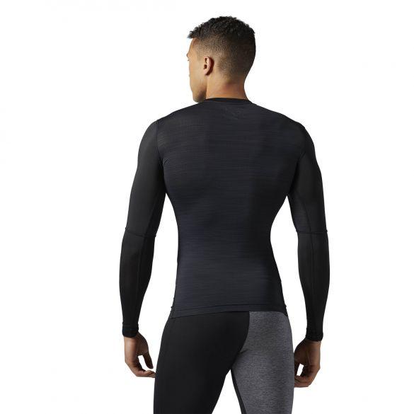 Мужская компрессионная футболка Reebok Actvchl Ls Comp Tee BR9575