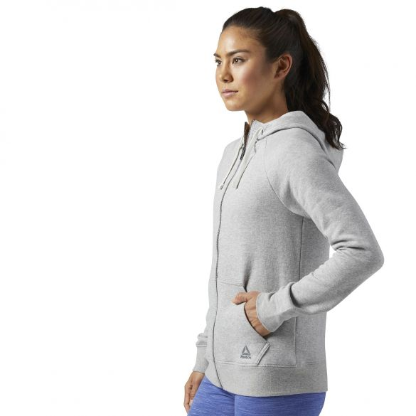 Женская толстовка Reebok Elements Fleece Full Zip BS4109