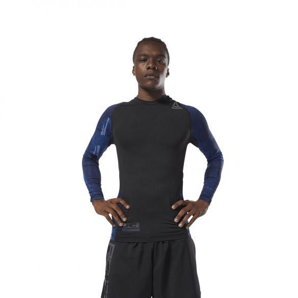 Мужская футболка Reebok Combat Ls Rash Guard CY9964