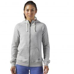Женская толстовка Reebok Elements Fleece Full Zip BS4109