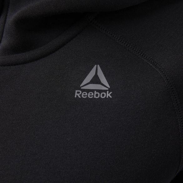 Женский джемпер Reebok Qc Full Zip Hoodie CF0316