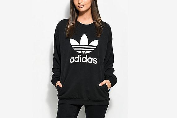 женская толстовка adidas
